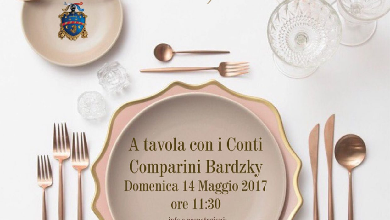 A tavola con i Conti Comparini Bardzky